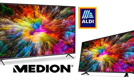 Aldi mit verlockendem Angebot: Medion UHD-TVs für wenig Geld