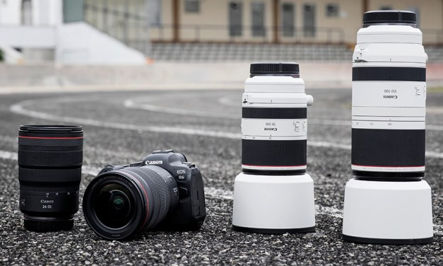 Vier neue Canon RF-Objektive und zwei spezielle RF-Extender