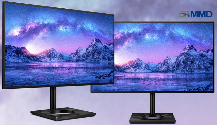 Schönling der Philips-Monitore kommt im Zero-Bezel-Design