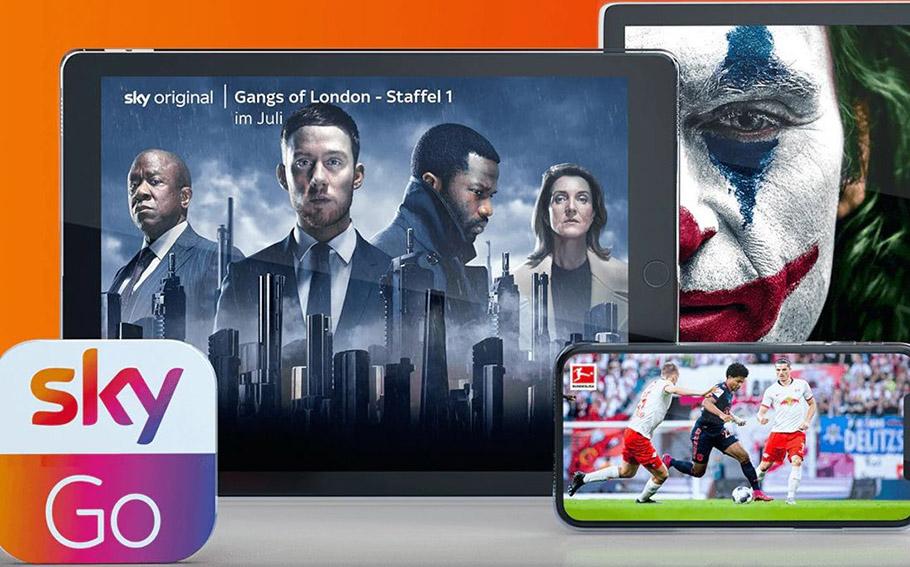 Sky Go ist ab sofort auch in der Huawei AppGallery verfügbar