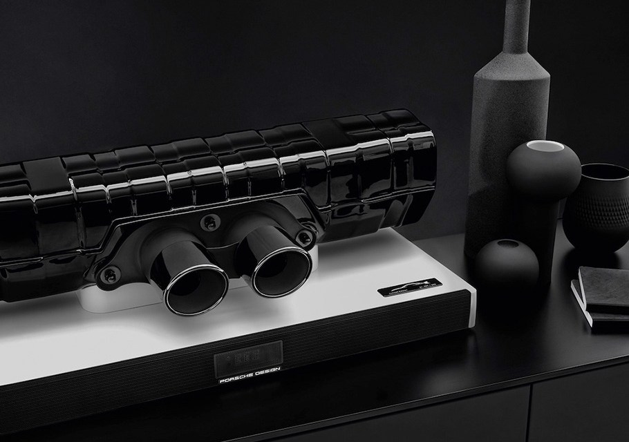 Endschalldämpfer und Endrohrblende ersetzen langweilige Lautsprecher: Porsche 911-Soundbar!