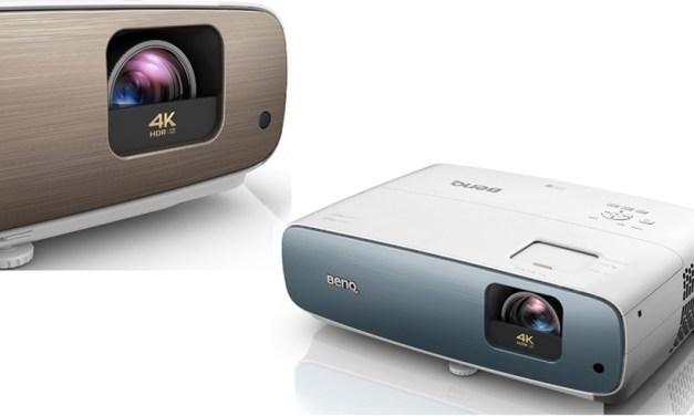 """Ein """"sportliches"""" und ein """"cineastisches"""" Modell: BenQ bringt günstige 4K-Projektoren auf den Markt"""