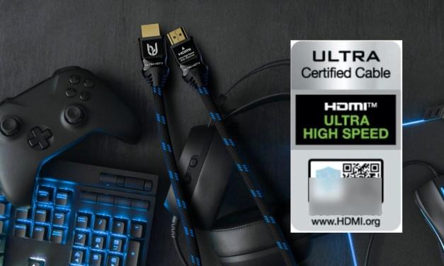 Update: Ultra High Speed HDMI 2.1 Kabel von Ultra HDTV erhalten Premium-Zertifizierung