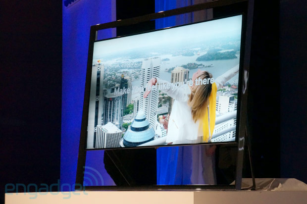 CES 2013: Samsung zeigt 85″ Ultra-HD-Fernseher S9