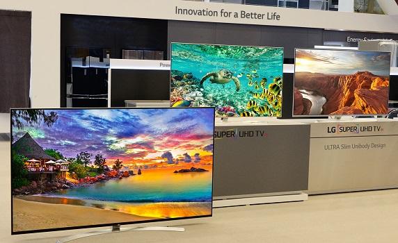 CES 2016: LG bringt neues Super UHD TV Lineup mit