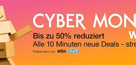 Cyber Monday Woche 30.11.15, letzte Chance auf 4K- und Heimkino-Deals