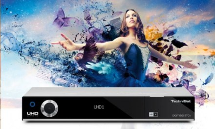 4K Ultra HD Receiver DIGIT ISIO STC+ von TechniSat im Handel