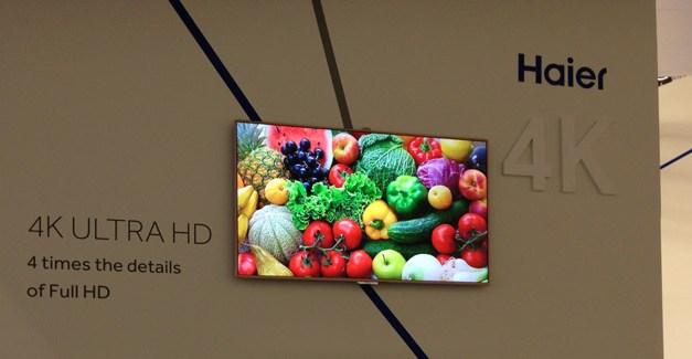 Haier präsentiert neue Ultra HD Fernseher auf der IFA 2013 [ inkl. Eyes On Video ]