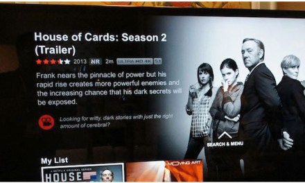 Netflix 4K Streaming – ein Vorgeschmack auf die Zukunft in Ultra HD