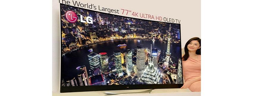 LG 77EC9800: 77 Zoll Curved-4K-OLED TV wird ab Q2 2014 ausgeliefert