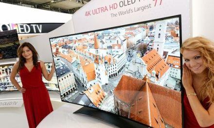 LG hat den Größten! 77 Zoll curved 4K-OLED-TV auf IFA 2013