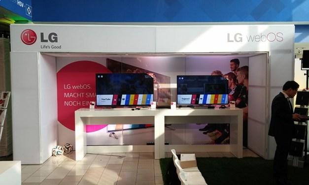 LG: Erste 4K-Fernseher mit webOS am Start