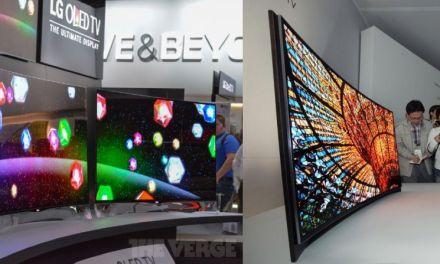 LG: Curved OLED-TVs sollen 2013 auf den Markt kommen
