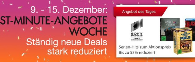 Amazon Last-Minute-Angebote: 4K- und Heimkino-Deals am 14.12.2015