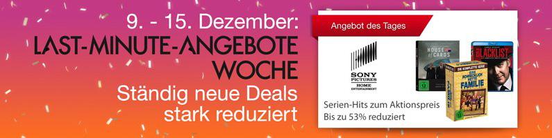 Jetzt oder nie: Amazon 4K- und Heimkino-Deals 17.12.2015