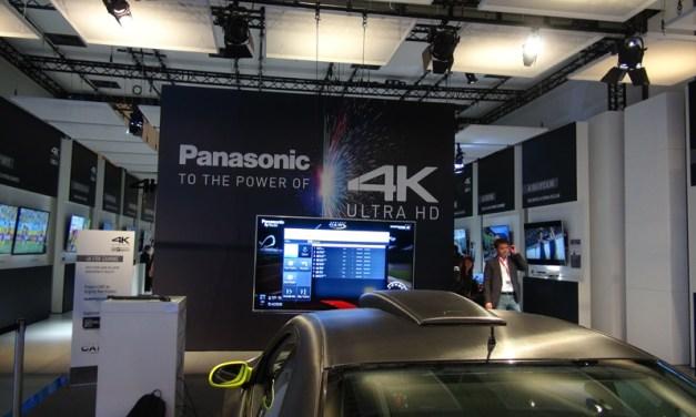 CES 2014: Neue Panasonic 4K-TVs erreichen Plasma-Bildqualität