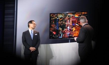 Panasonic ebenfalls mit 4K OLED TV auf der CES 2013