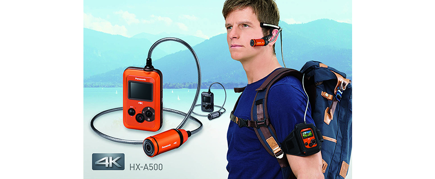Panasonic HX-A500: 4K-Action-Cam ab Juni für 449€ erhältlich