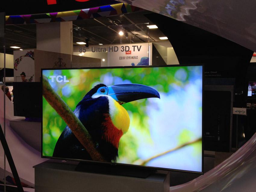 IFA 2014 – TCL stellt 4K-TV mit Quantum Dots vor