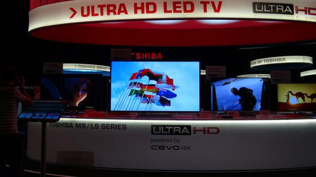 Toshiba bietet Ultra HD-Erlebnis zu Hause