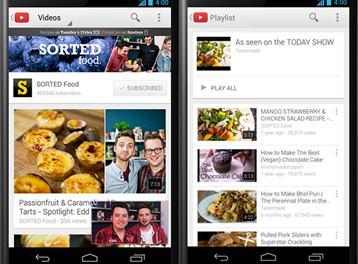 4K YouTube für Android: Update bringt Ultra HD Support