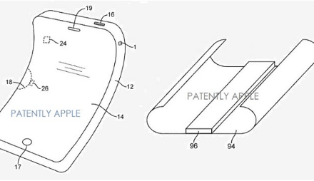 Apple: Patent für flexibles OLED-iPhone-Display