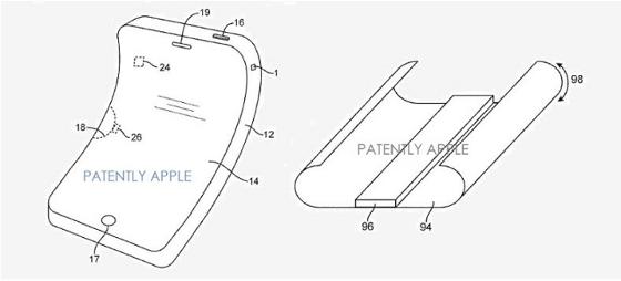 Apple: Patent für flexibles OLED-iPhone-Display