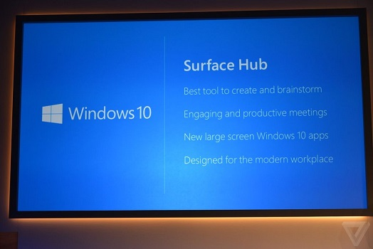 Surface Hub: 4K-Konferenzsystem mit Windows 10