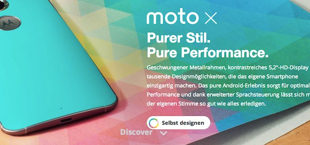 Motorola Moto X 2nd Gen: 4K-Smartphone vorgestellt