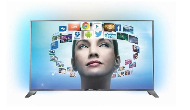 Philips 4K 55PUS8809 Ambilight TV mit Android erscheint Anfang Oktober