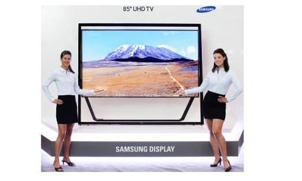Samsung führt 4K-TV-Markt an, 500 Prozent Wachstum zum Vorjahr