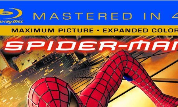 "Spider-Man – ""Mastered in 4K"" Blu-Ray"