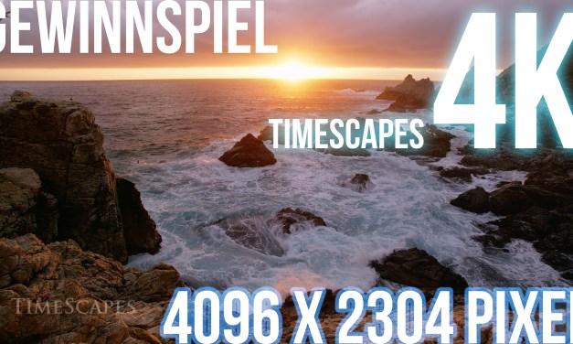 """Wir verlosen eine 4K-Edition (4096 x 2304 Pixel) von """"TimeScapes"""" auf 32GB USB Stick"""
