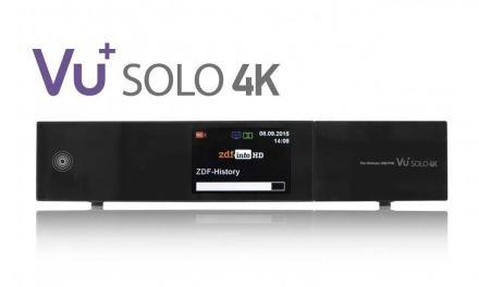 VU+ Solo 4K: Neuer Ultra HD Receiver ab 25. Oktober erhältlich