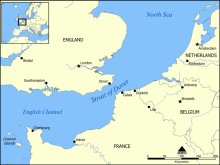 ドーバー海峡_地図