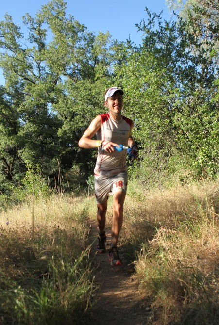 Ryan at Western States - photo from Emma Garrard