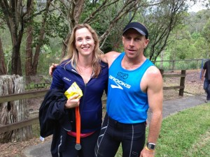 Clarkey and his lovely lady, Tiff who will both be racing this weekend at GNW