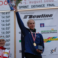 Hanny won Gold at the World Orienteering Championships