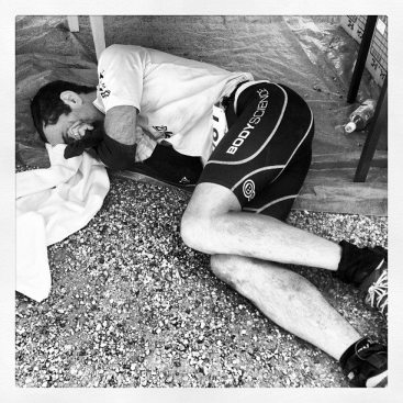 One of my favourite pictures this year so far. Brendan living the dream at UTMF