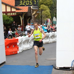 Alex is the second-fastest runner over this course when he won the race back in 2010