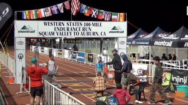 Beth had a solid race at WSER100 despite limited prep.