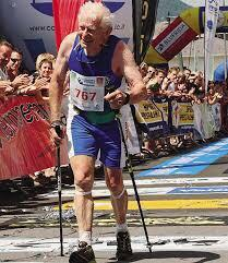 If you want to be like this guy and still running at 85 - take a break every now and again (picture - Kilian Jornet)