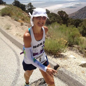 Nikki at Badwater