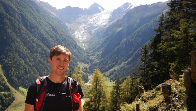 Majell Backhausen pictured here in Europe, where is spent most of the 'summer'