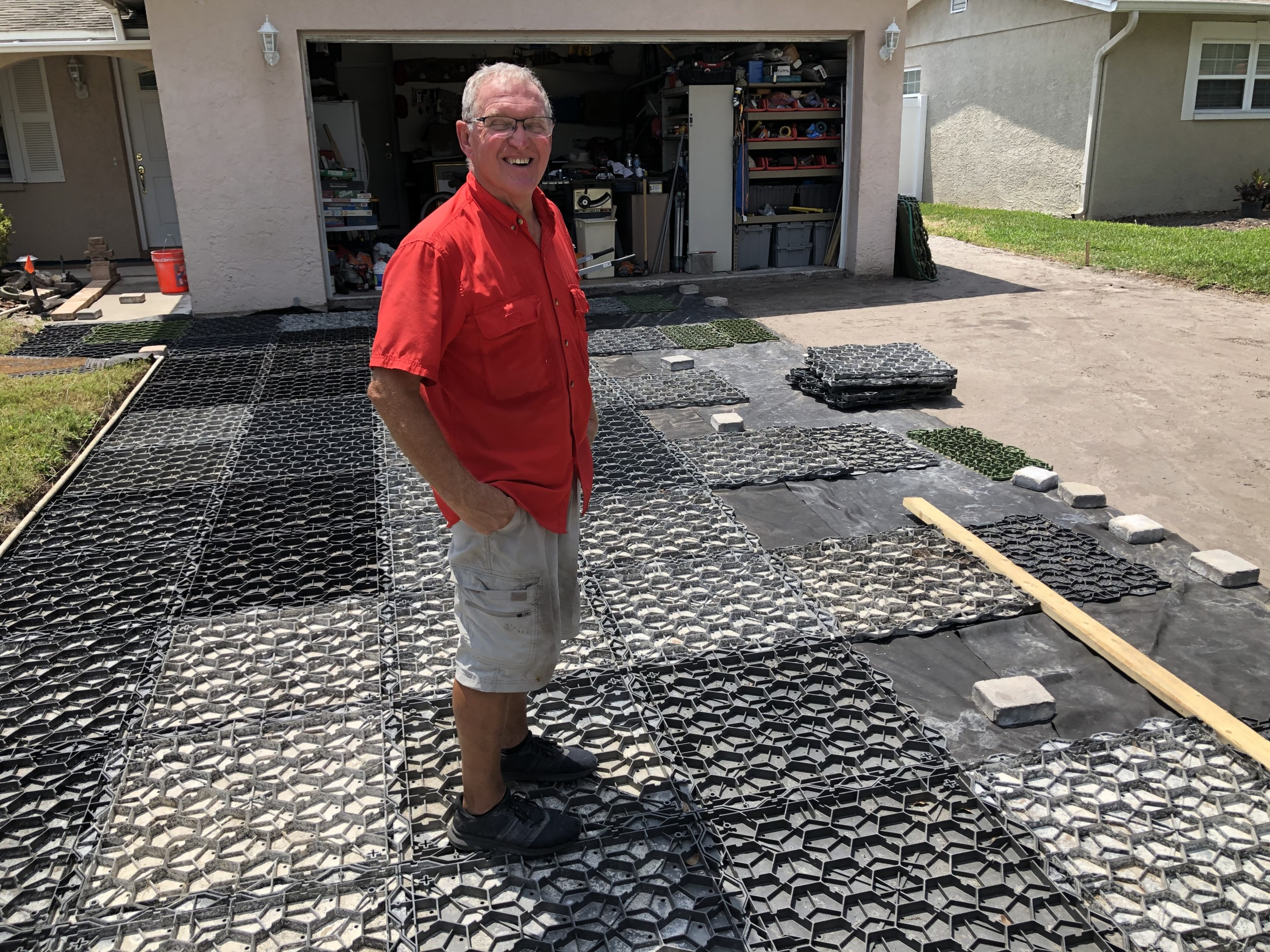how to lay pavers over dirt the best