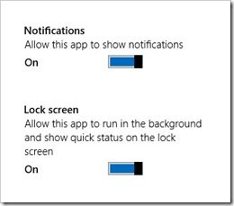 connected standby permissions