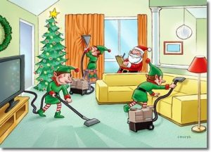 Christmas cleaning