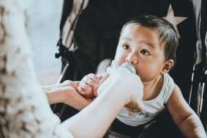 Baby Vomit Eating