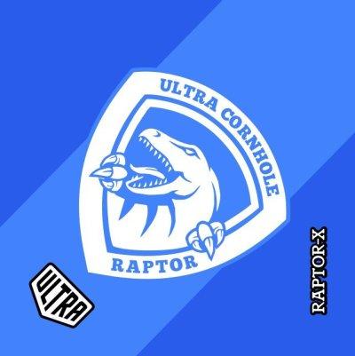 Ultra Cornhole Raptor Light Blue