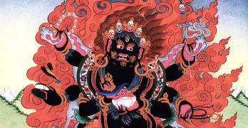 Here's a Comic Book Guide to the Tibetan Buddhist Afterlife